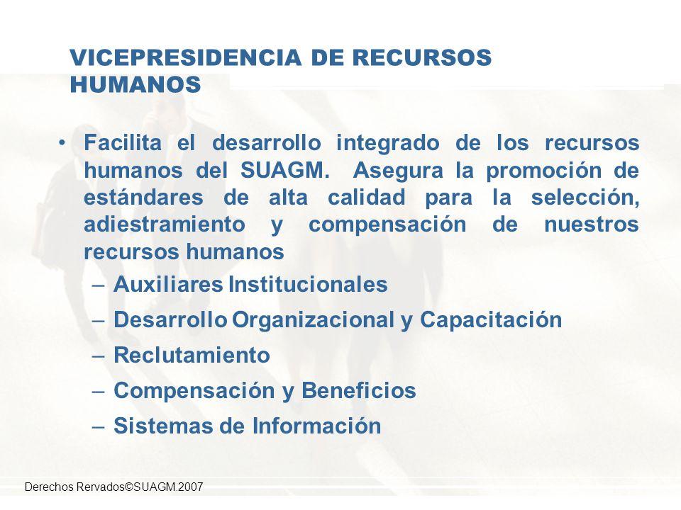 VICEPRESIDENCIA DE RECURSOS HUMANOS