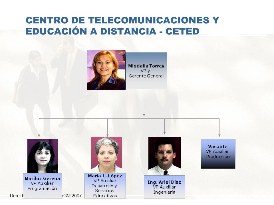 CENTRO DE TELECOMUNICACIONES Y EDUCACIÓN A DISTANCIA - CETED