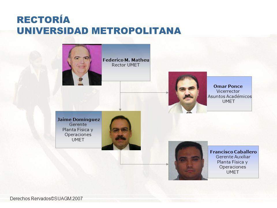 RECTORÍA UNIVERSIDAD METROPOLITANA
