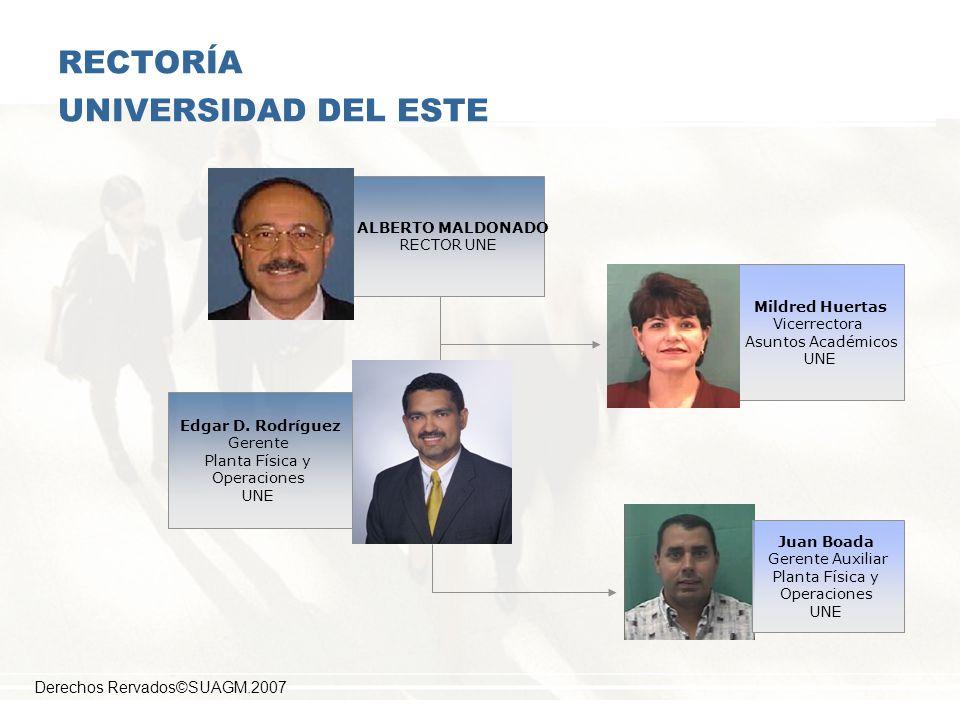 RECTORÍA UNIVERSIDAD DEL ESTE
