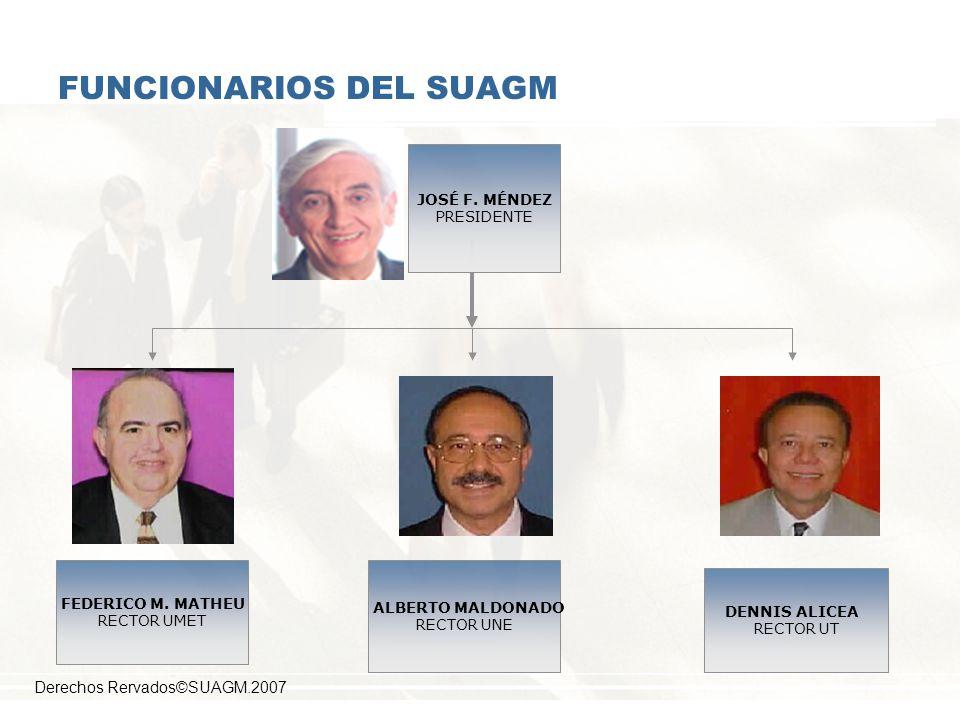 FUNCIONARIOS DEL SUAGM