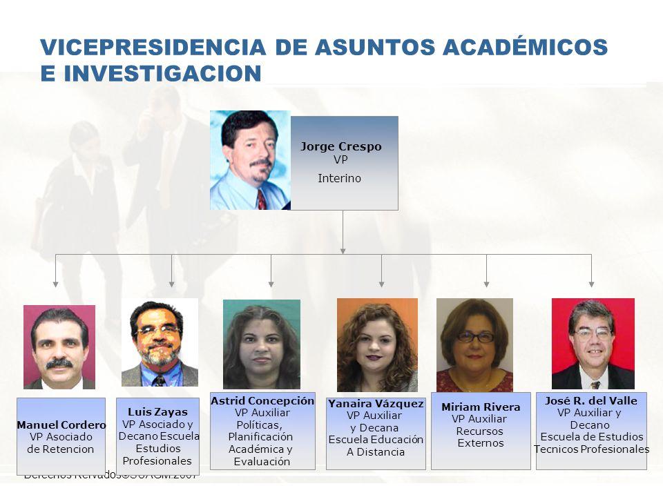 VICEPRESIDENCIA DE ASUNTOS ACADÉMICOS E INVESTIGACION