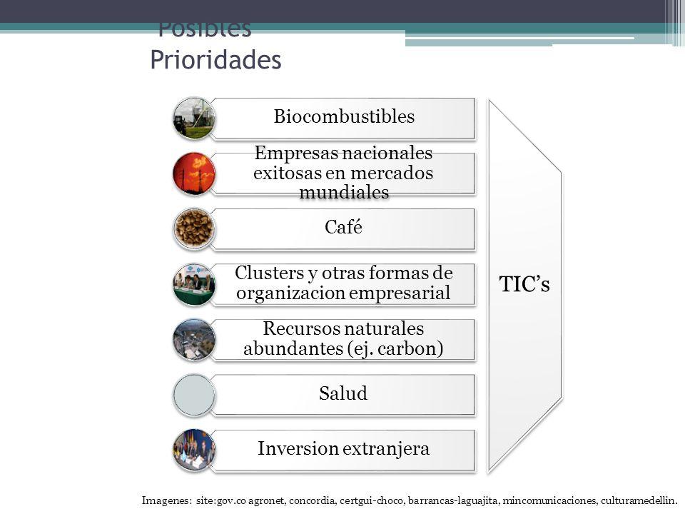 Posibles Prioridades Biocombustibles