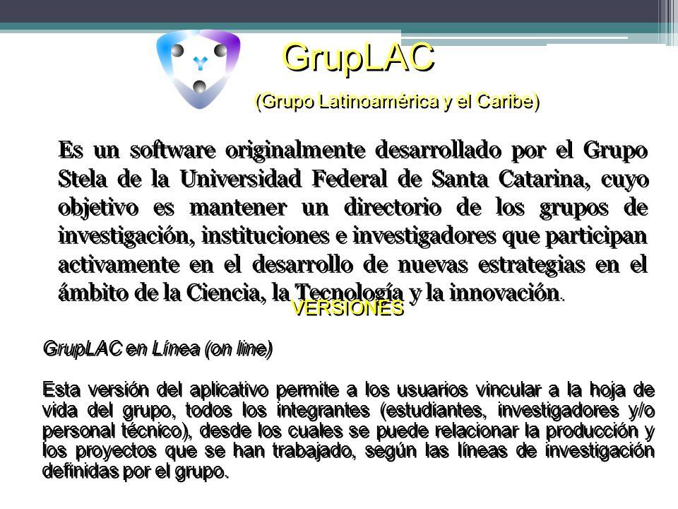 GrupLAC (Grupo Latinoamérica y el Caribe)