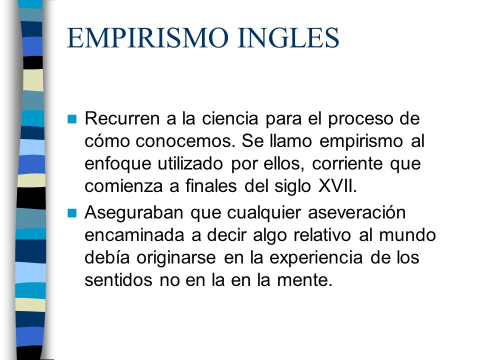 EMPIRISMO INGLES
