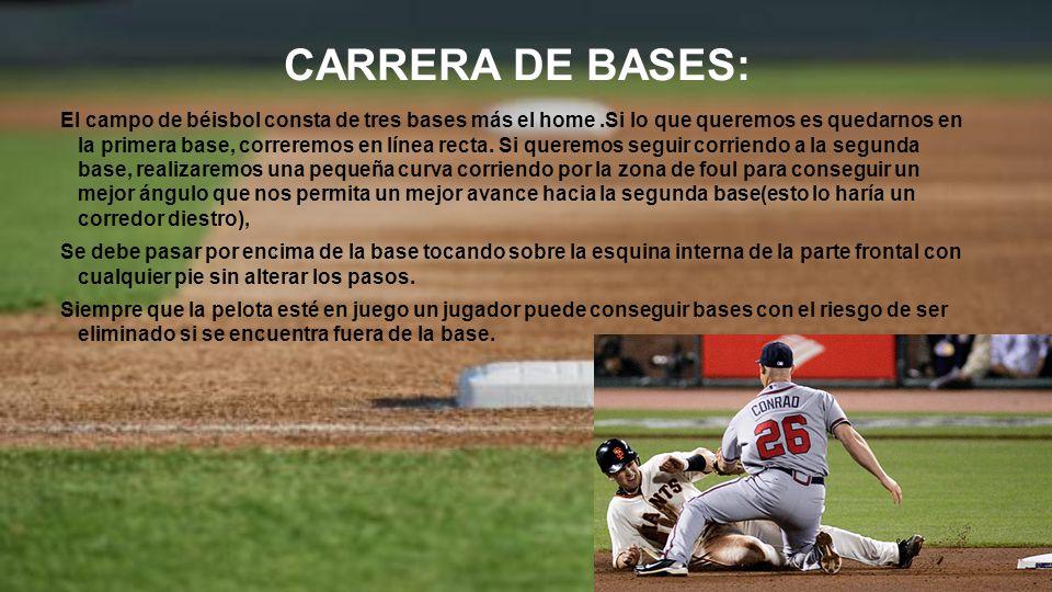 CARRERA DE BASES: