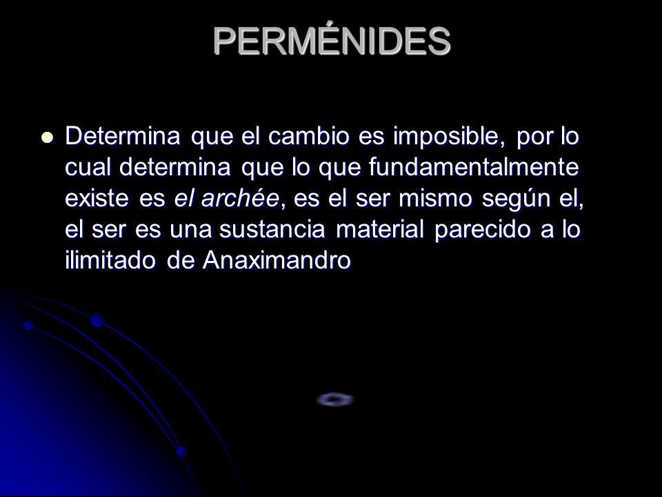 PERMÉNIDES