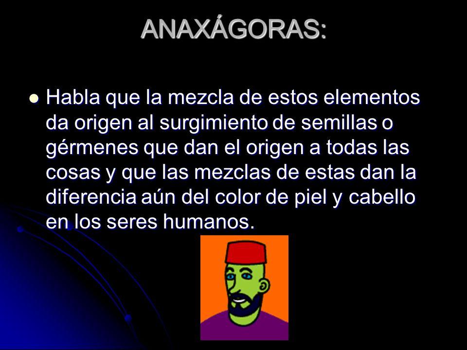 ANAXÁGORAS: