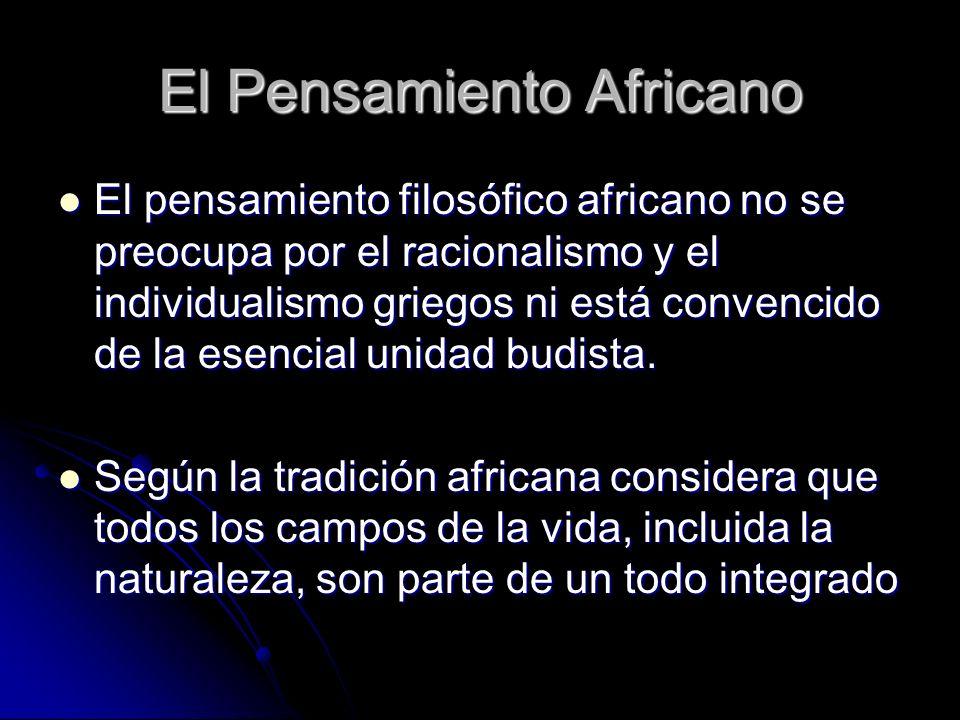 El Pensamiento Africano