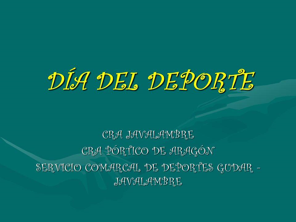 SERVICIO COMARCAL DE DEPORTES GUDAR - JAVALAMBRE