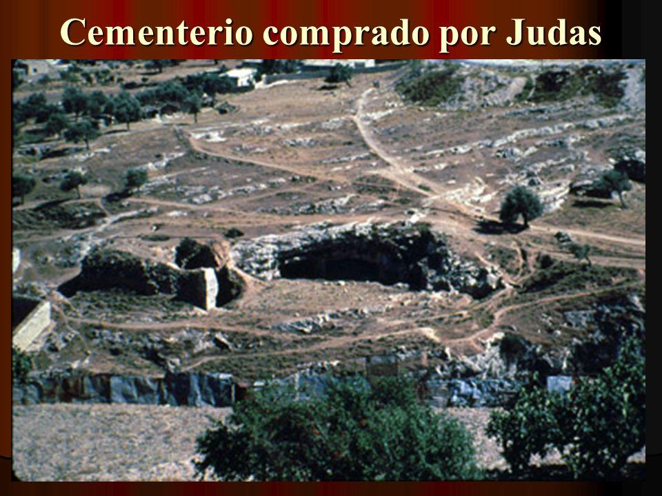 Cementerio comprado por Judas