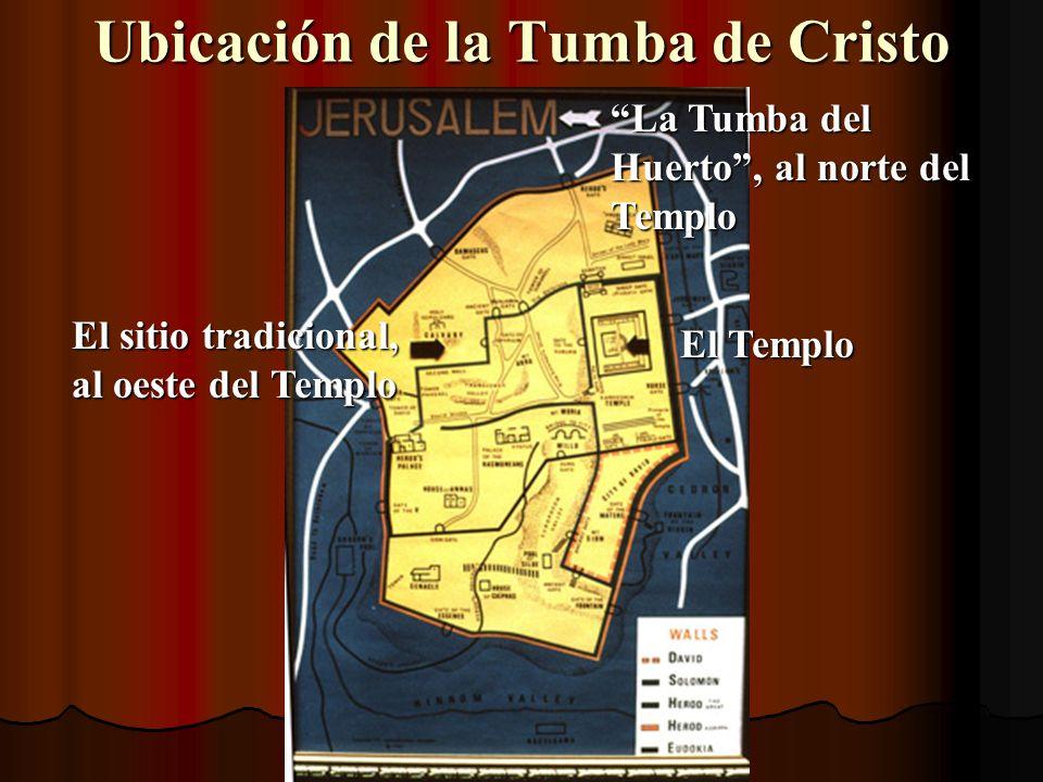 Ubicación de la Tumba de Cristo