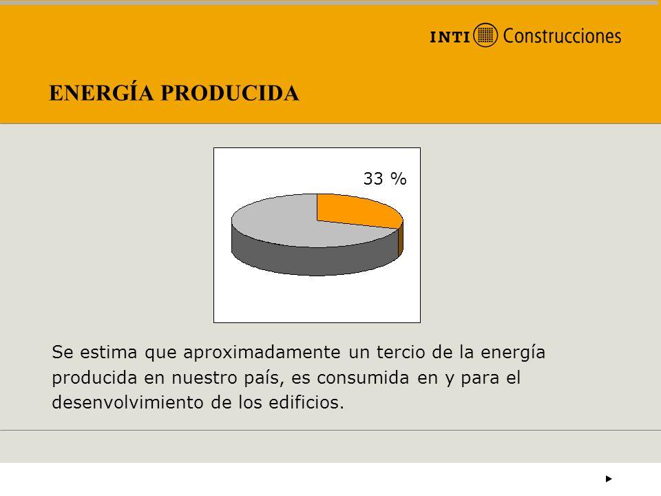 ENERGÍA PRODUCIDA33 %