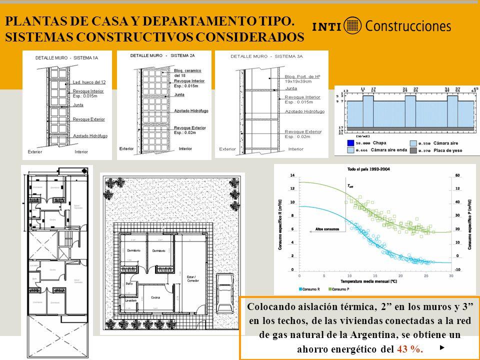 PLANTAS DE CASA Y DEPARTAMENTO TIPO