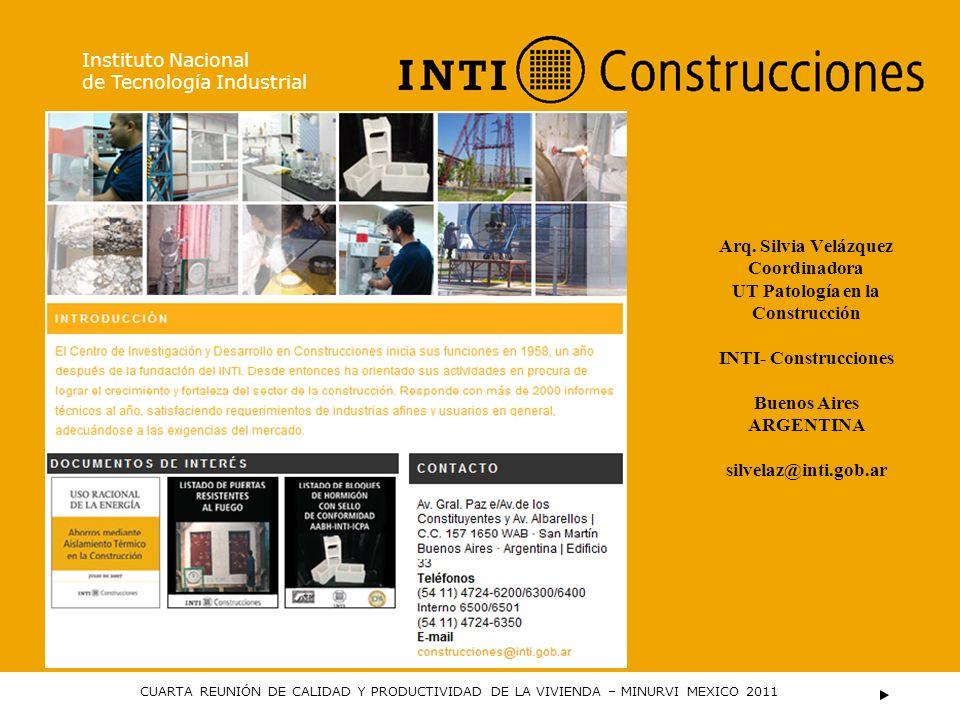 UT Patología en la Construcción
