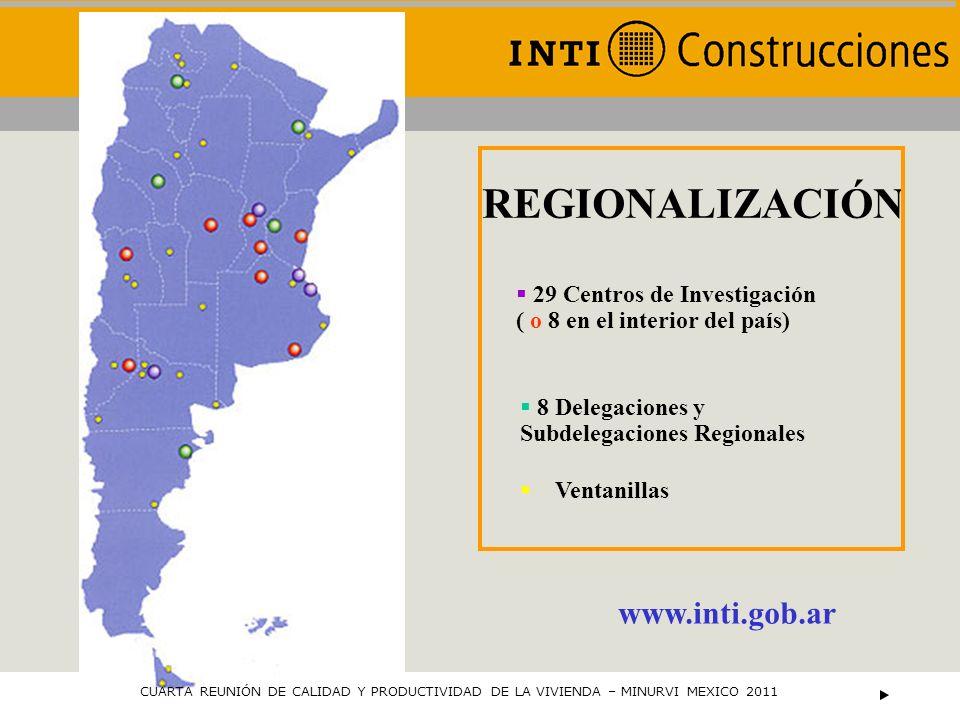 29 Centros de Investigación ( o 8 en el interior del país)