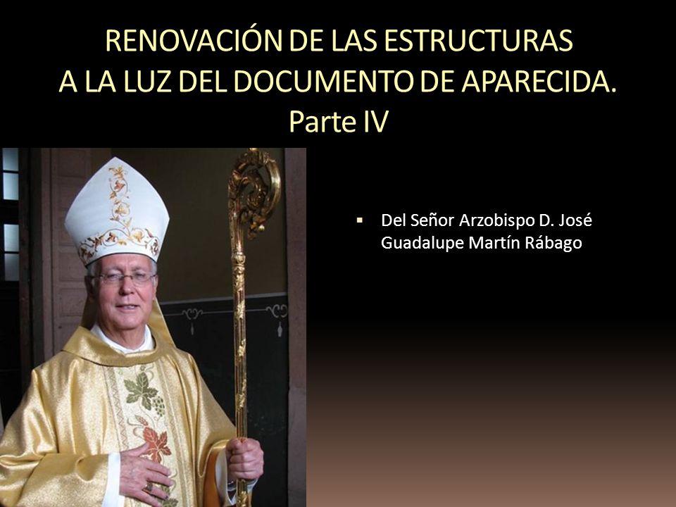 RENOVACIÓN DE LAS ESTRUCTURAS A LA LUZ DEL DOCUMENTO DE APARECIDA