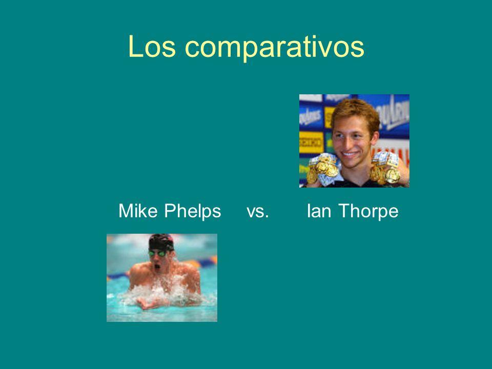 Mike Phelps vs. Ian Thorpe