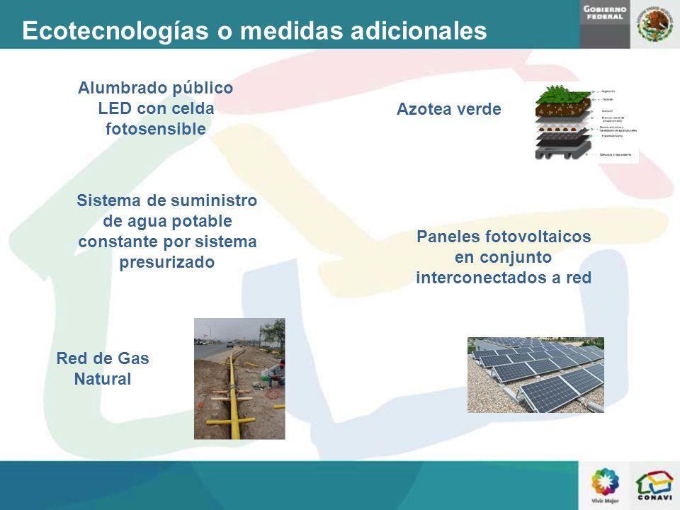 Ecotecnologías o medidas adicionales