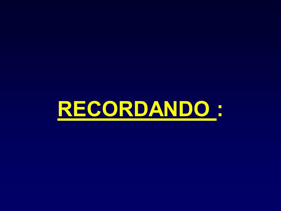 RECORDANDO :
