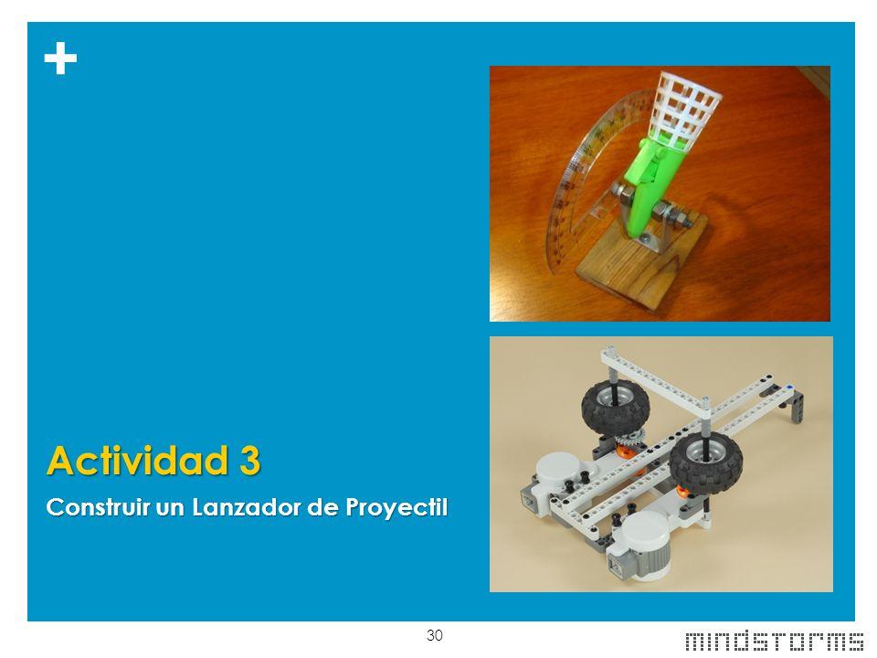 Actividad 3 Construir un Lanzador de Proyectil