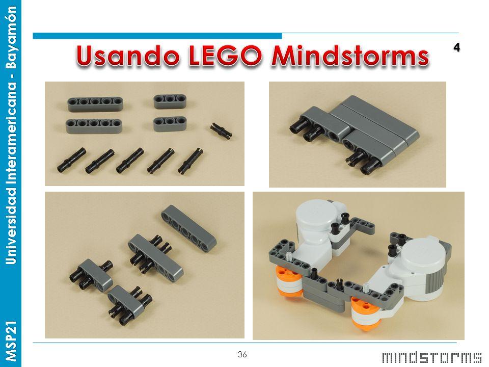 Usando LEGO Mindstorms