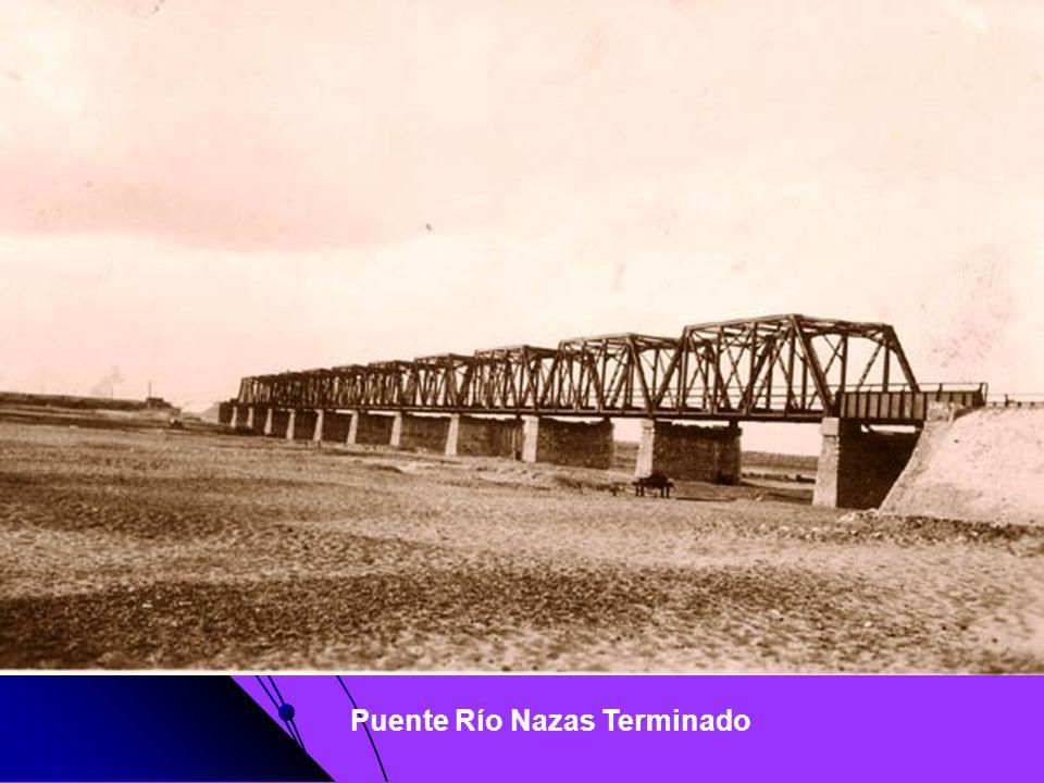 Puente Río Nazas Terminado