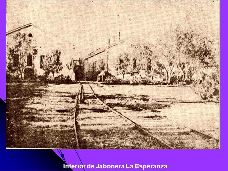 Interior de Jabonera La Esperanza