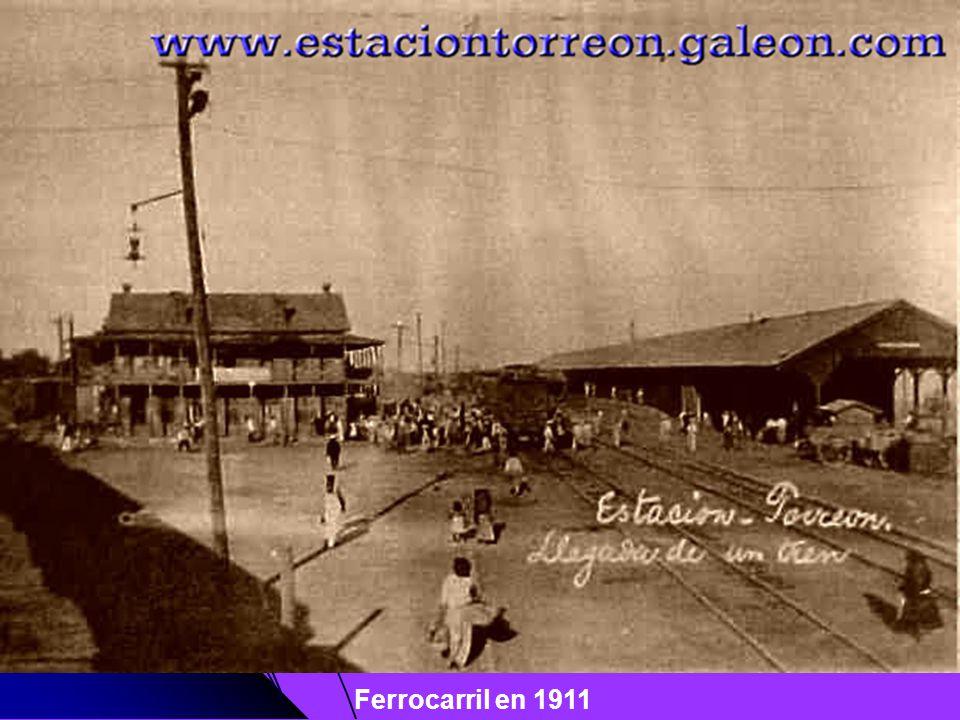 Ferrocarril en 1911