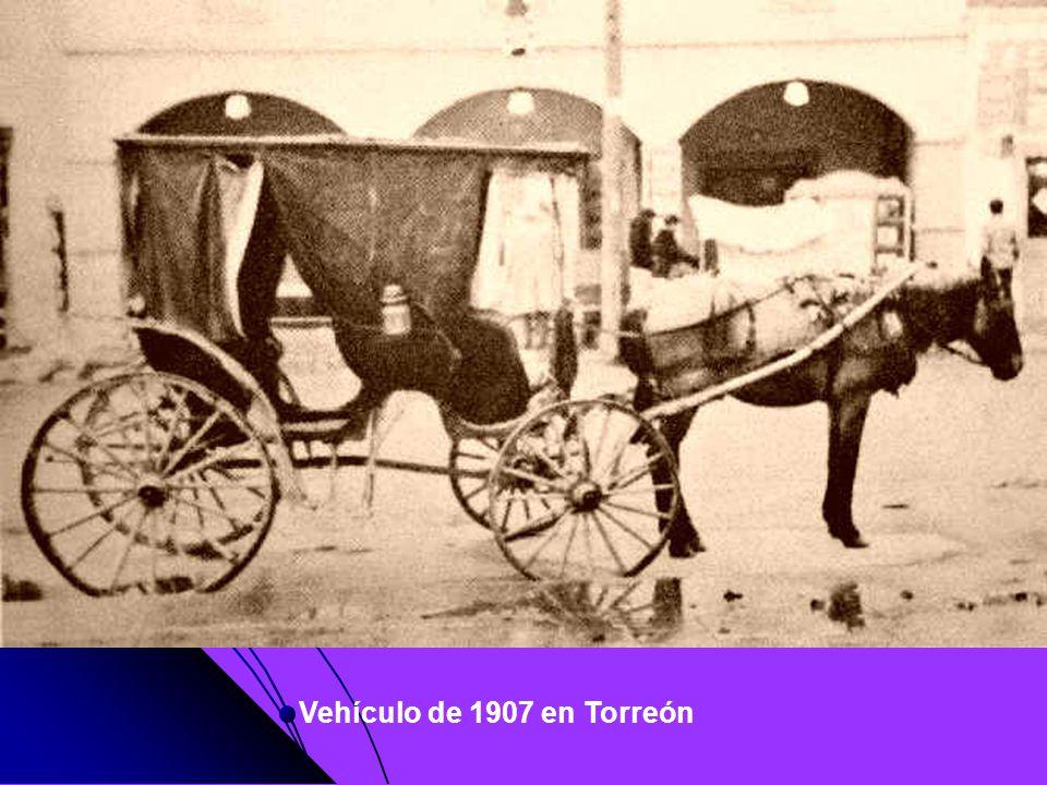 Vehículo de 1907 en Torreón