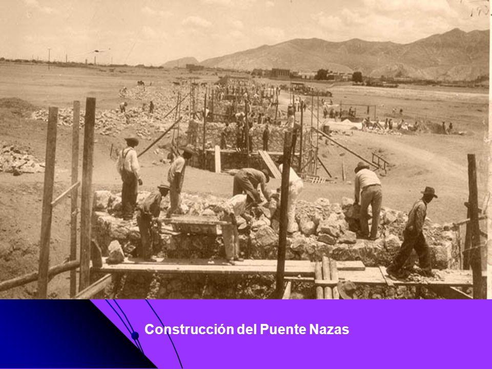 Construcción del Puente Nazas