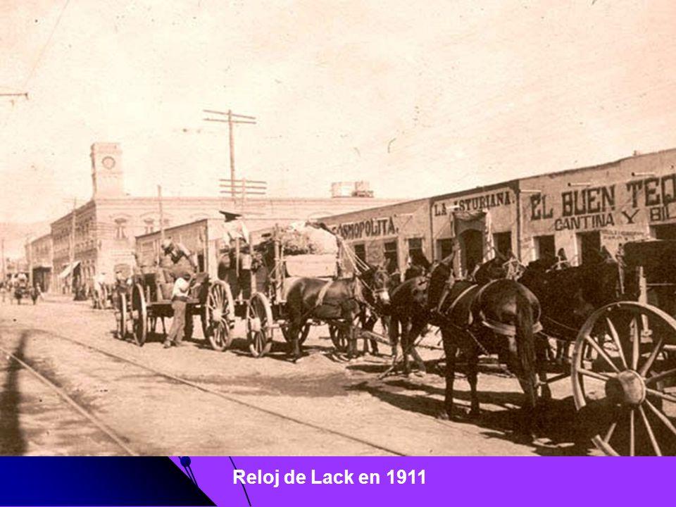Reloj de Lack en 1911
