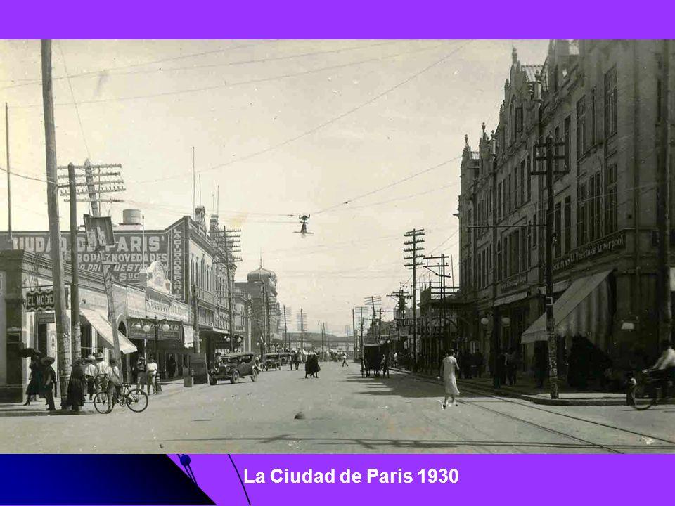 La Ciudad de Paris 1930