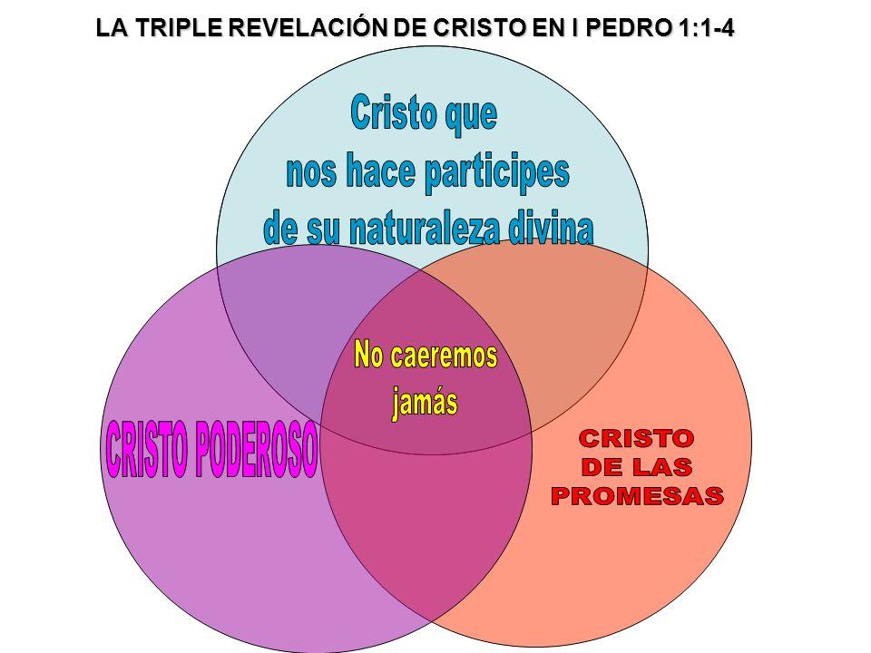 LA TRIPLE REVELACIÓN DE CRISTO EN I PEDRO 1:1-4