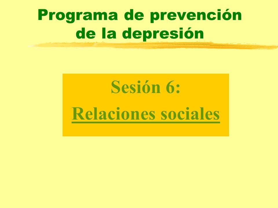 Programa de prevención de la depresión