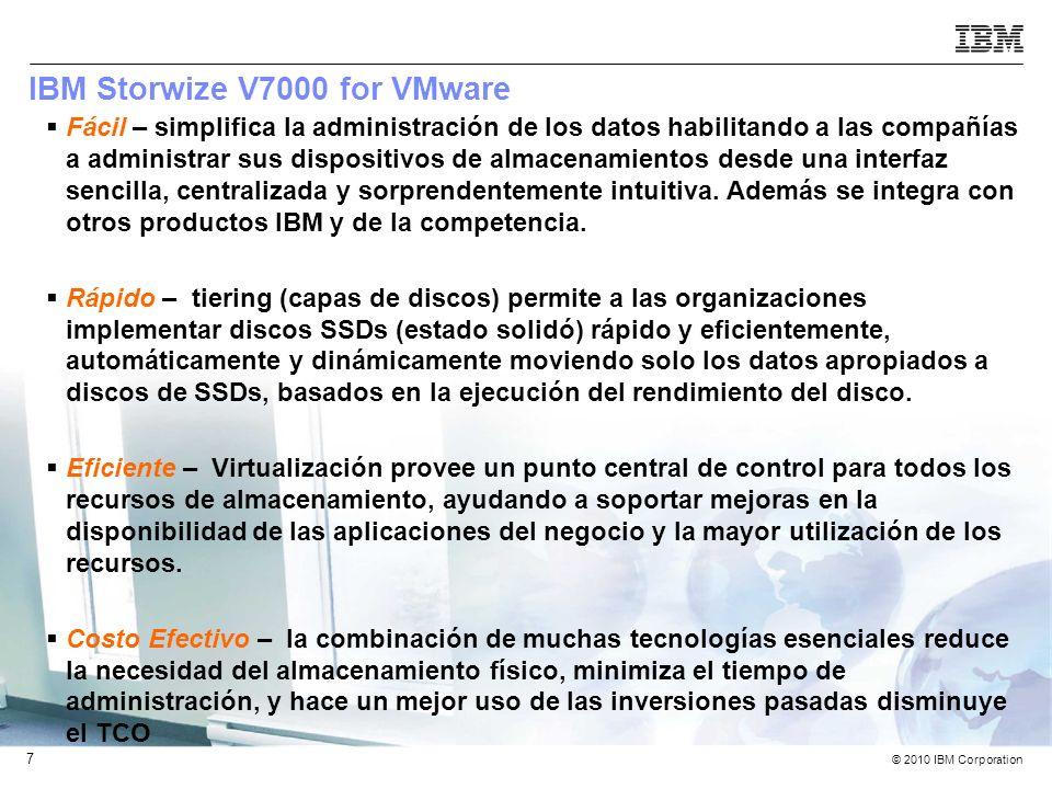 IBM Storwize V7000 for VMware