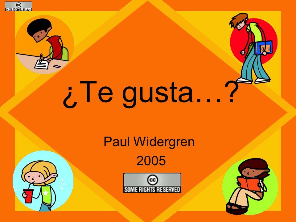 ¿Te gusta… Paul Widergren 2005