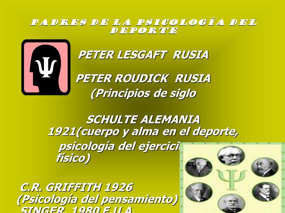 PETER LESGAFT RUSIA PETER ROUDICK RUSIA