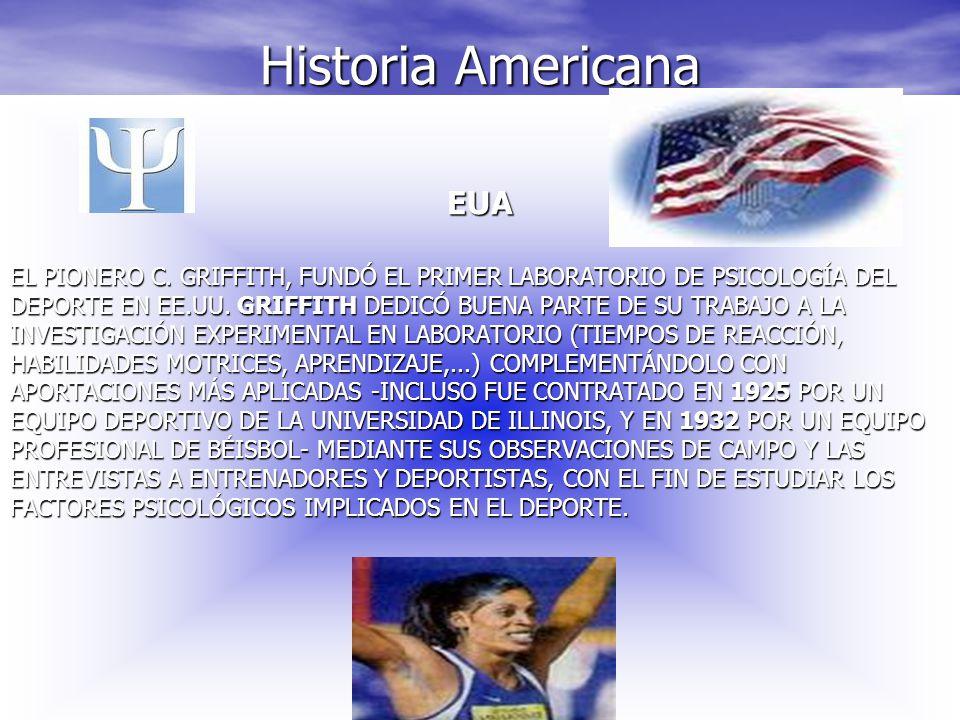 Historia Americana EUA