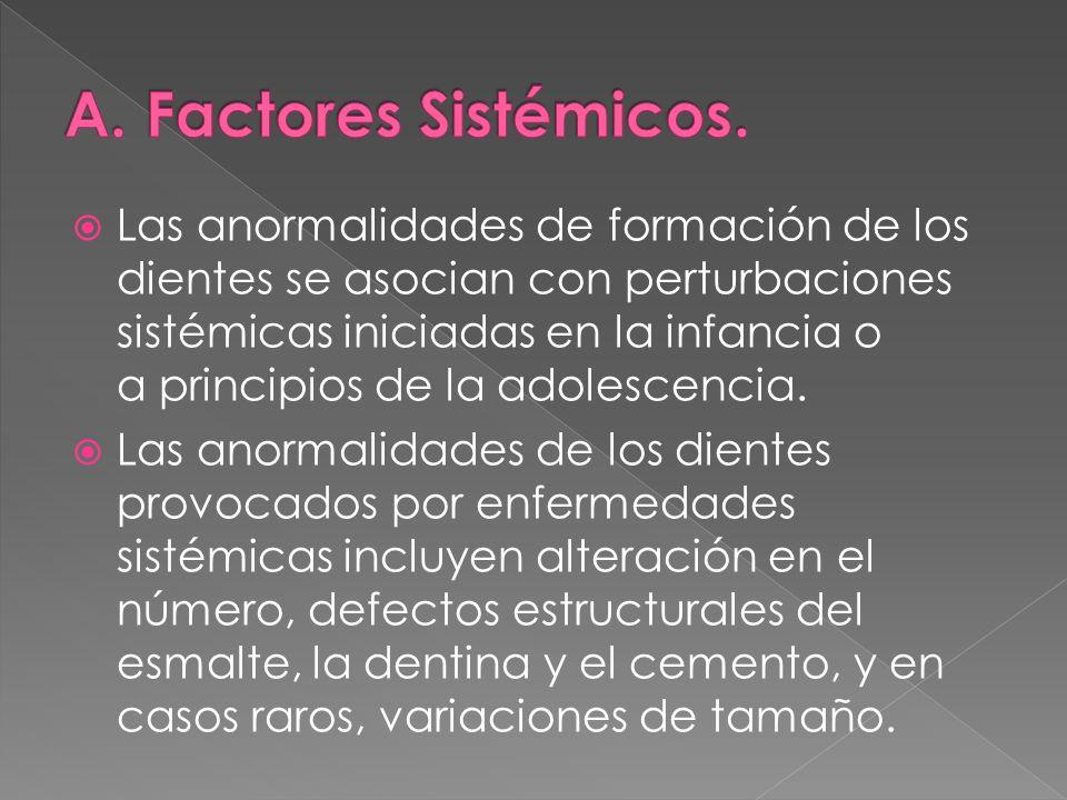 A. Factores Sistémicos.