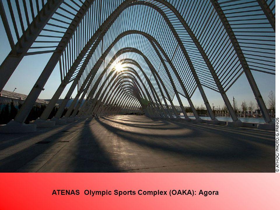 ATENAS Olympic Sports Complex (OAKA): Agora