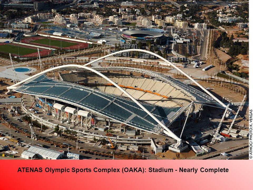 ATENAS Olympic Sports Complex (OAKA): Stadium - Nearly Complete