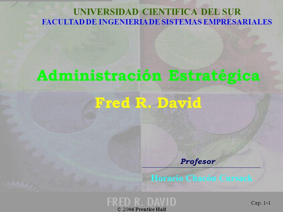 Administración Estratégica Horacio Chacón Cursack