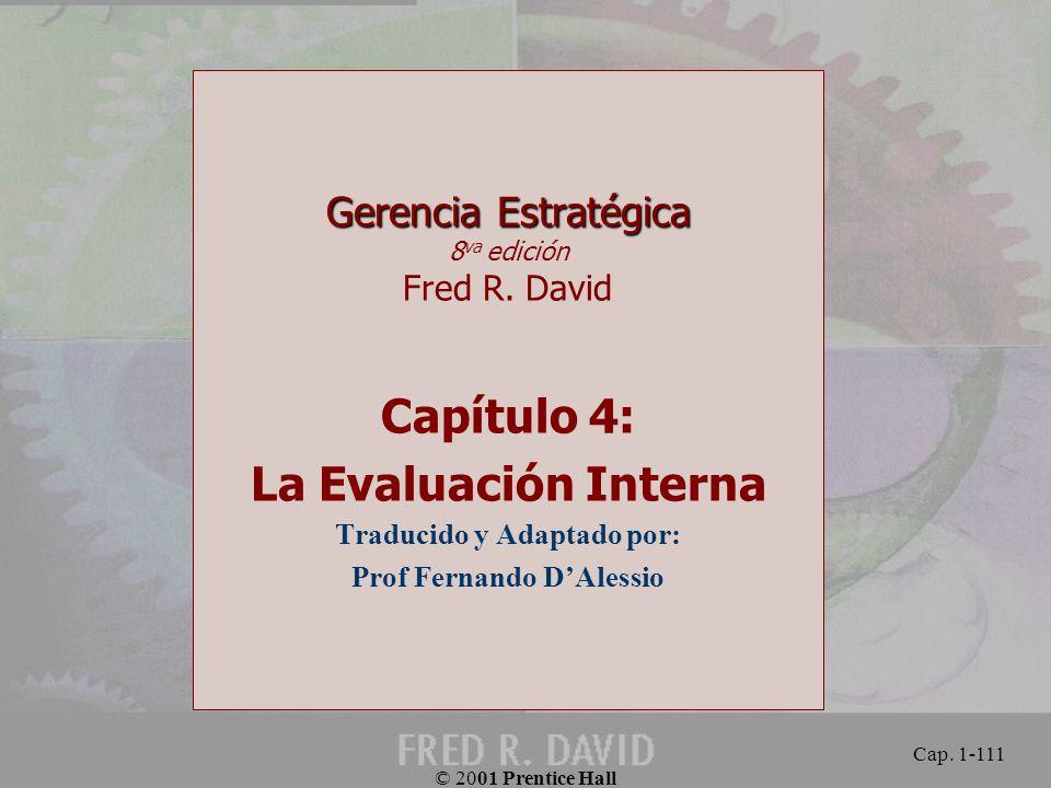 Traducido y Adaptado por: Prof Fernando D'Alessio