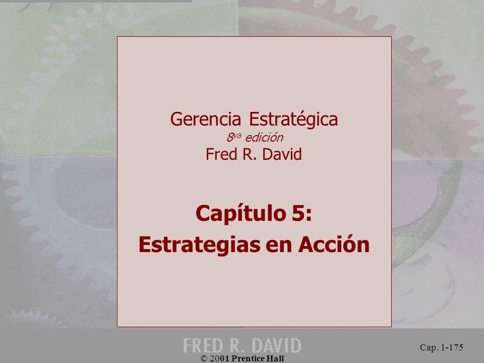 Gerencia Estratégica 8va edición Fred R. David