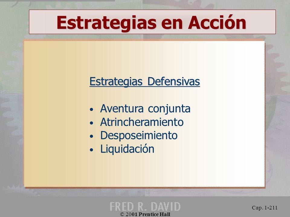 Estrategias en Acción Estrategias Defensivas Aventura conjunta