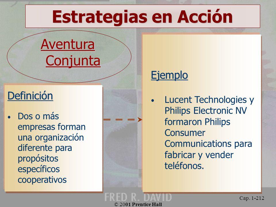 Estrategias en Acción Aventura Conjunta Ejemplo Definición