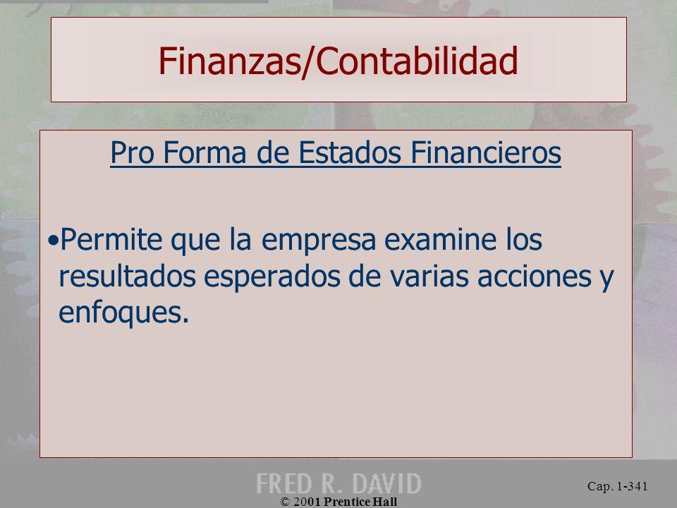 Finanzas/Contabilidad