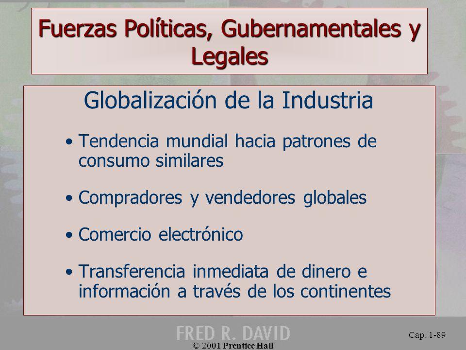 Fuerzas Políticas, Gubernamentales y Legales