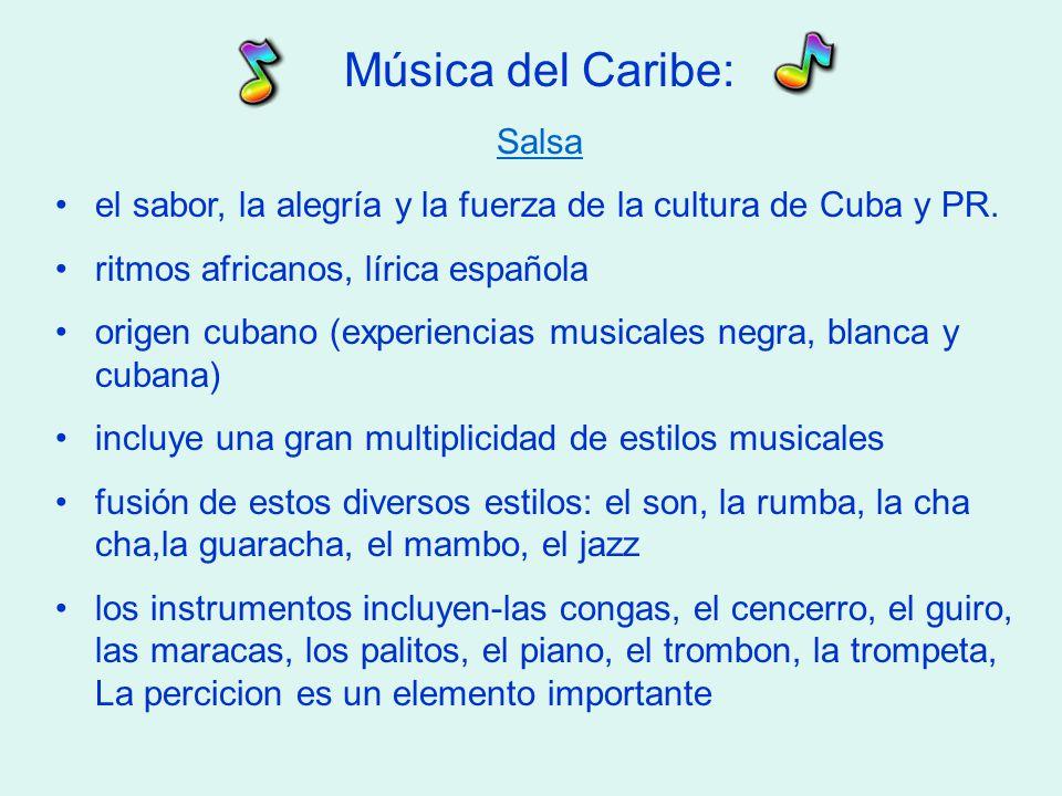 Música del Caribe: Salsa